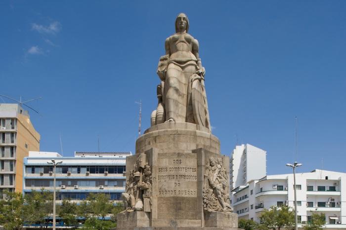 Memorial Statue, Maputo, Mozambique