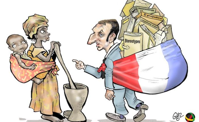 Monsieur Macron, vamos láfalar!