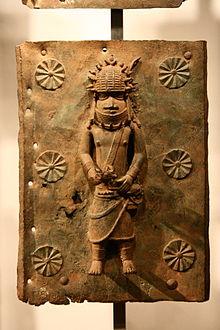 220px-Benin_brass_plaque_03